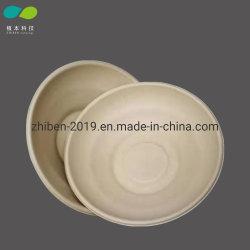 Biodegradierbare Zuckerrohr-Papier-Nahrungsmittelnudel-runde Filterglocke