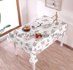 Floraux nappe Table textiles Polyester PVC