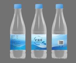 Plástico PET completamente automática Complete 500 ml de agua embotellado taponadora de llenado de equipos de embalaje