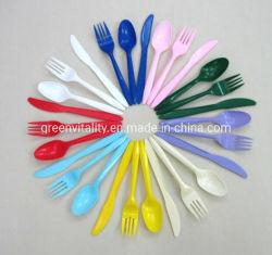 台所用品のプラスチックスプーン型、使い捨て可能なプラスチックスプーン型、スプーンおよびフォーク型