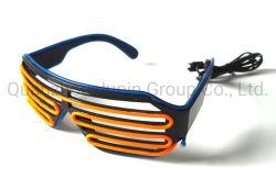 OEM couleur double EL Glow partie clignotement du témoin à LED de lunettes