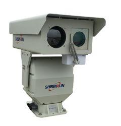 Macchina fotografica termica di controllo di accesso della macchina fotografica di Doppio-Spettro lungo di video