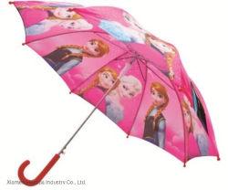 """un ombrello diritto dei 19 """" di pollice del fumetto bambini di stampa per pieno di sole e piovoso"""