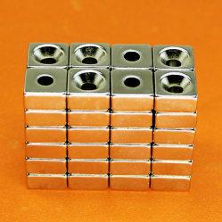 Magnete potente del neodimio del rivestimento del Ni di uso domestico svasato