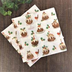 Envie d'arbre de Noël drôle d'impression personnalisée 2 plis serviette en papier