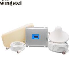 Два диапазона для мобильных ПК усилителем сигнала GSM повторитель сигнала Беспроводной усилитель сигнала сотового телефона с антенной