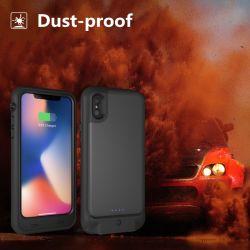 Pi68 impermeável à prova de pó da bateria do smartphone caso telefone para iPhone xs