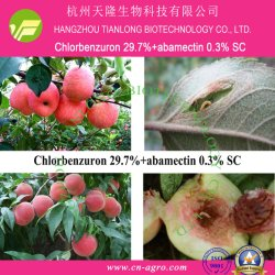 L'abamectine 0,3 %+Chlorbenzuron 29.7%SC-l'abamectine+chlorbenzuron (+29.7%) 0,3%-insecticide mélange