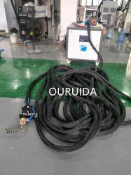 DSP-50kwデジタルの5m、10m、20m、40mの60mケーブルの手持ち型の誘導加熱機械