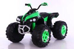 De hete Rit van de Vierling van het Stuk speelgoed van de Verkoop op 12V de Sterke In werking gestelde Auto van de Batterij van de Auto ATV voor Jonge geitjes
