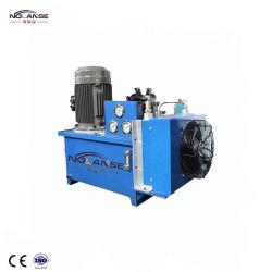 De professionele Hydraulische Cilinders van de Fabriek van China die door het Hydraulische Systeem van de Krachtcentrale van het Pak van de Eenheid van de Hydraulische Macht Met de Hydraulische Motor van de Pomp van de Slang voor Verkoop worden gecontroleerd