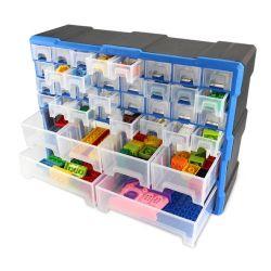 Kundenspezifischer Plastikfach-Ablagekasten für kleine Karten für Ersatzteile