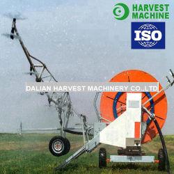 Сельское хозяйство фермы движении воды шланг турбины с помощью орошения мотовила разбрызгивающие