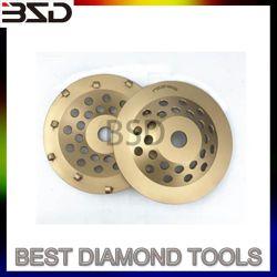 El PCD de 4 ruedas, cuchillas de diamante policristalino, PCD rectificado, Escarificador de hormigón, hormigón Herramientas de nivelación