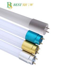 中国工場では、バトルンリニア蛍光灯固定具の製造を行っています 120cm 600mm 1200mm 1500mm 18W 30W 三角プルーフ T5 T8 T8 Tibo ガラス製丸型 LED チューブ