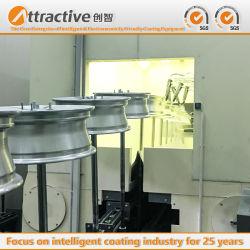 Spritzlackierverfahren-Sachanlagen-Beschichtung-Industrie-Fließband für Herstellungs-Automobile, Aluminium, Cookware und andere Produkte