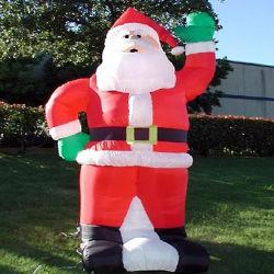 زورق مطاطي عيد الميلاد القديم سانتا كلوز الديكور للبيع