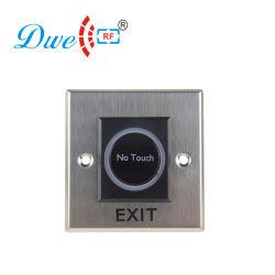 24V No toque la puerta de pulsador de infrarrojos suelte el interruptor de control de acceso Sistema Cerradura electrónica