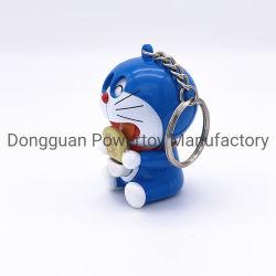 Commerce de gros cadeaux souvenirs de promotion de la publicité de conception personnalisée logo 3D le logo OEM trousseau de clés en plastique de fournisseur de chaîne de clé