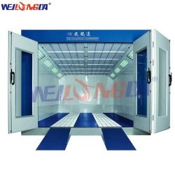 WLD-6200 Autospray Paint-cabine met verwarming van dieselolie Systeem