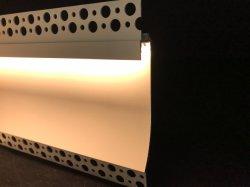 Darklight потолочного освещения на стене Coving Cornice гипса светодиодный алюминиевый профиль