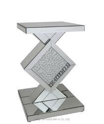 Mobilia rispecchiata diamante di cristallo moderno della Tabella di sezione comandi del nastro