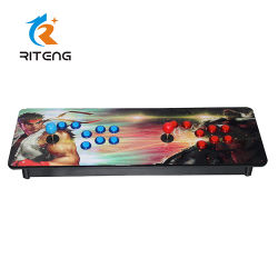 2 Player Caixa de Pandora 4s /5s/ Madeira consola de jogos de arcada de Metal