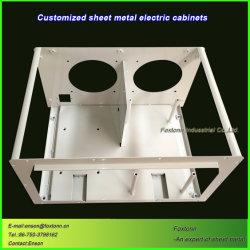 CNC die de ElektroDelen van het Metaal van het Ponsen van de Doos van de Controle machinaal bewerken