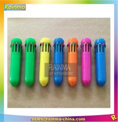 Mini colori multicolori personalizzati della penna di sfera 10 con la stampa di marchio
