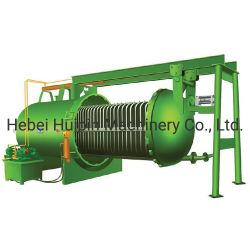 O enxofre refinado a chapa de pressão de alimentação química horizontal do filtro de lâminas