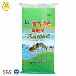 Sacchetto lucido promozionale di plastica laminato di imballaggio della pellicola di BOPP per l'alimentazione acquatica del gambero dei pesci