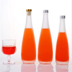 Logotipo personalizado el tope de aluminio de 12oz Entrega rápida botellas de vidrio para bebidas