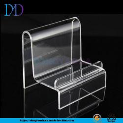 Einlagiger acrylsauerausstellungsstand, Handy-Kamera-kosmetischer Plexiglas-Halter