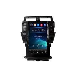 (Personnalisation / de gros) Écran tactile de Style de Tesla Toyota Prado Plus 2014-2017 Android GPS Navigator dans le tableau de bord Système de divertissement de Radio stéréo de voiture
