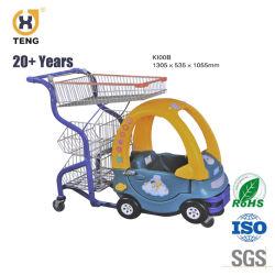 Het Leuke het Winkelen van de Auto van het Stuk speelgoed van Jonge geitjes Plastic Karretje van uitstekende kwaliteit