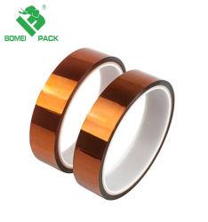Band de Op hoge temperatuur van Polyimide van de Band van de fabriek Hittebestendig voor de Elektronische Beveiliging van de Industrie