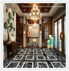 Material de construção Quartz/Granito/calcário/Onyx/pedra mármore piso de mosaico/Flooring/cozinha/banheiro//parede de pedra de pavimentação em mosaico