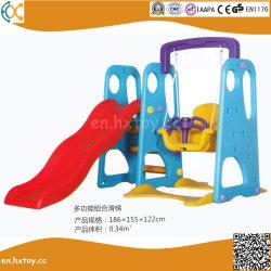 子供の屋内プラスチック振動およびスライドの演劇セット