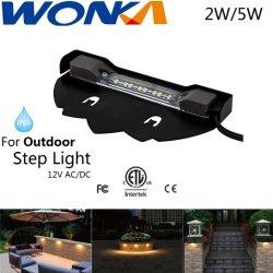 Водонепроницаемый светодиодный фонарь для освещения Hardscape выступ с ETL