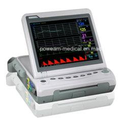 FM-10b/10b più il video fetale del cuore dello schermo a colori con i gemelli