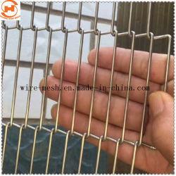 La cinta transportadora de acero inoxidable malla /cinta transportadora la malla de alambre