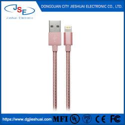 Mfi verklaarde de MetaalKabel Chargersync van de Bliksem USB voor Appel iPhone/iPad/iPod