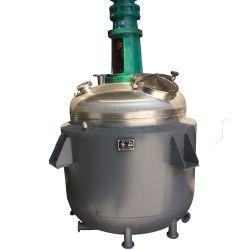Het Verwarmen van het Roestvrij staal van de Apparatuur van Guangzhou de Chemische Elektrische Beklede Reactor van de Partij voor de Installatie van het Biogas