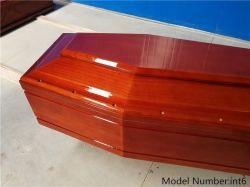 カスタマイズされたイタリア様式のカシの木の切り分ける棺