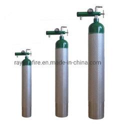 Sonda de oxigénio a Médica de alumínio de alta qualidade do cilindro de gás