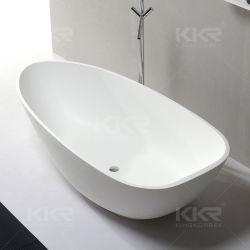 Санитарные продовольственный отдельно стоящая ванна камня смолы в ванной комнате есть ванна