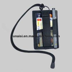 Porte-Badge vertical ID tactique le titulaire de carte avec anneau pour clés