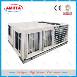 Cycle économique/refroidissement gratuit sur le toit de l'unité emballé climatiseur central