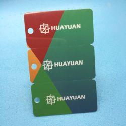 Logo personnalisé pritning PVC de code à barres sans contact 3 en 1 Balise clé combo de cartes en plastique pour la gestion des VIP