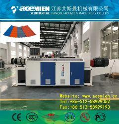 Telha de resina sintética fazendo a máquina/ Telhas Onduladas Máquina de folhas/ telhado trapezoidal linha de produção da Placa